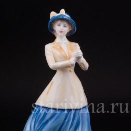 Фигурка девушки из фарфора Ханна, Royal Doulton, Великобритания, 2001 год.